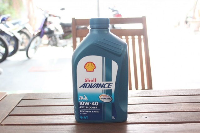 Nhớt shell advance
