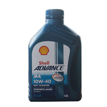 Shell Advance AX7 Scooter 10W40 0.8L