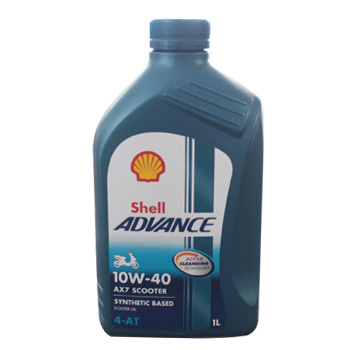 Shell Advance AX7 Scooter 10W40 1L