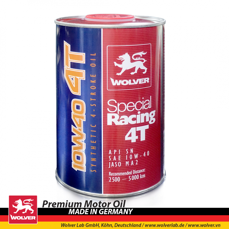 Wolver Special Racing Synthetic 4T 10W40 (1L)